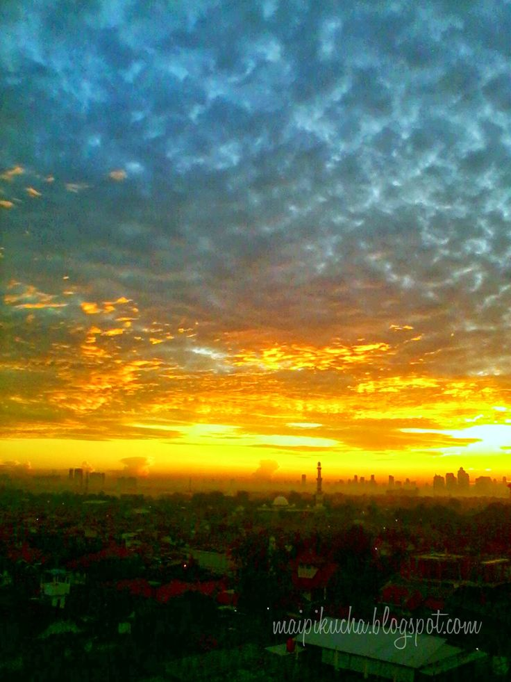 Another Mornings, Another Sunrises (window view)
