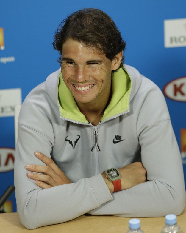 "The ""business casual"" Rafa: 