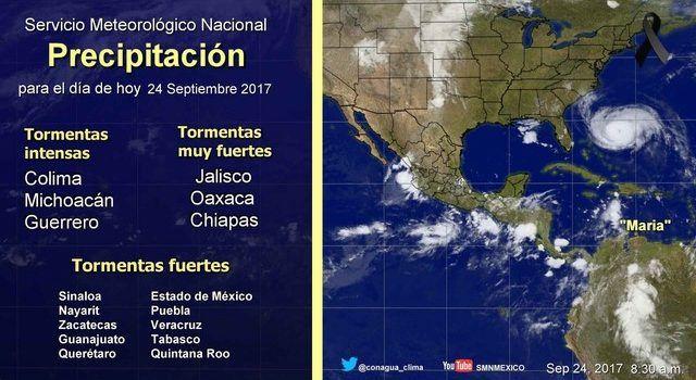 Pronóstico Meteorológico General No. Aviso 533. - Informativo La Región (Comunicado de prensa)