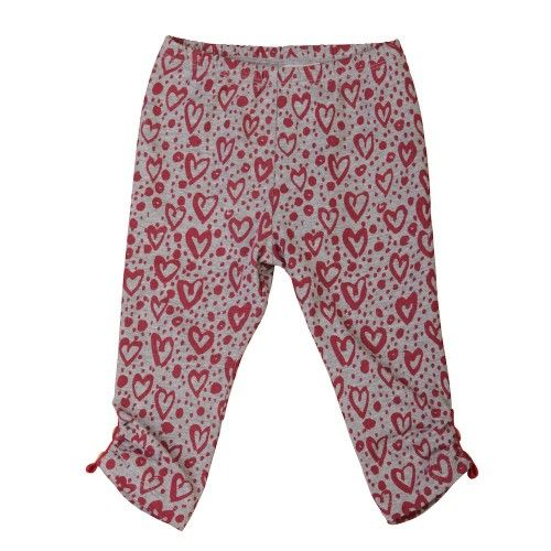 legs covered in love!grey marle leggings with red painted hearts and a little gathering at the sides of the leg bottomsmade from 95% organic cotton and 5% elastanefrom little wings $34.95