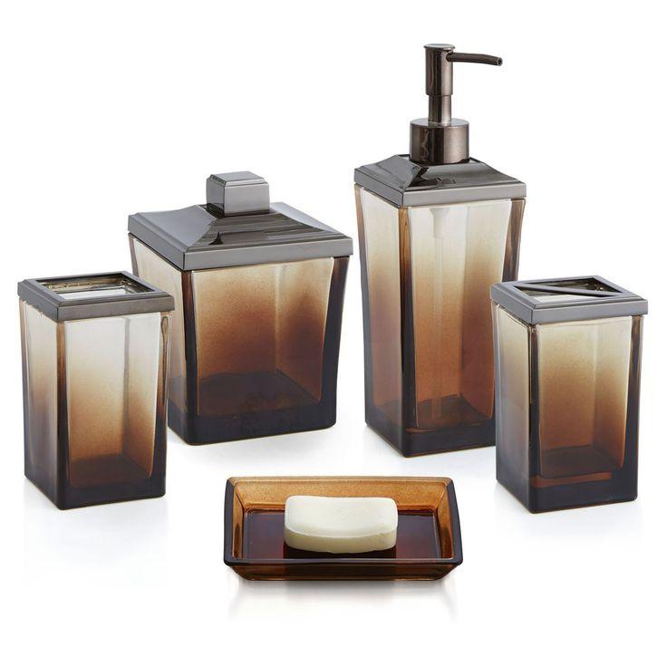 Paradigm Trends 5 Piece Ombre Bathroom Accessories Set - OMBRE_BATH_SET