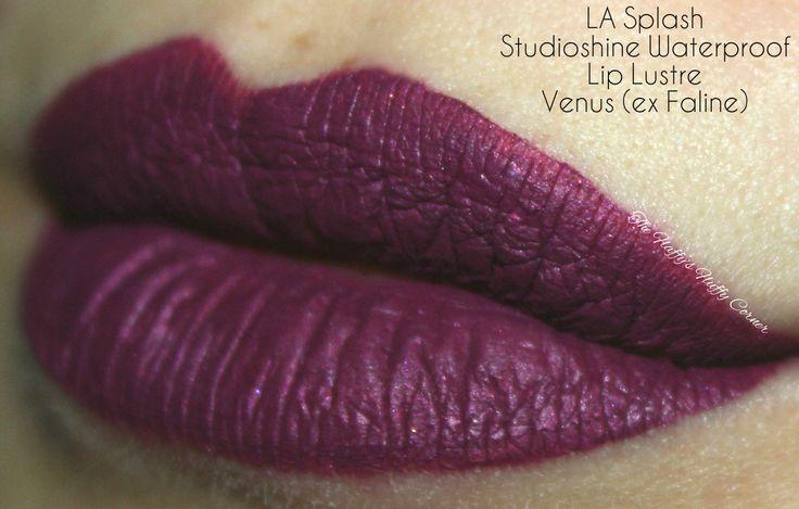 Studioshine Waterproof Lip Lustre Venus (ex Faline) by LASplash Cosmetics