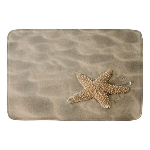 Realistic Soft Beach Sand with Starfish Bath Mat by Bed Bath and More on Zazzle  @zazzle #zazzle #bath #mat #bathroom #bed #bathe #home #decor #homedecor #fun #shop #shopping #blog #blogging #look #buy #sale #women #men #fashion #style #decorate #nice #cool #sweet #awesome #awesomeness #beach #sand #vacation #sand #relax #calm #soothe