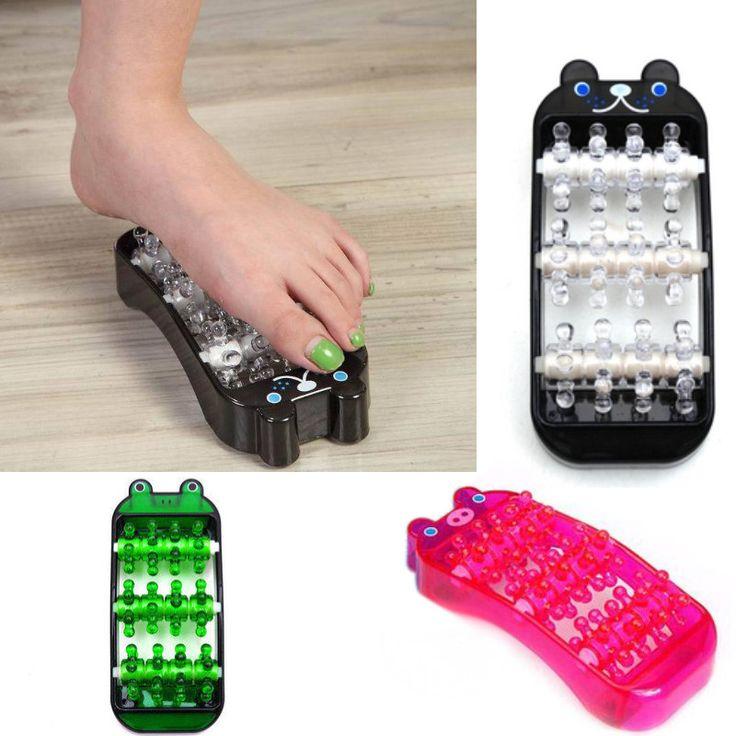 Color Cartoon Massage Skin Roller For Slimming Leg Foot