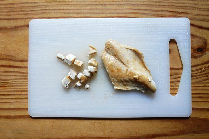 Párolt csirkemell készítése