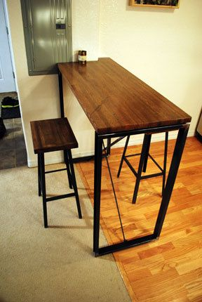 Industrial Bar table by BoulderElements on Etsy, $500.00