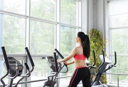 Regular sessions of cardiovascular exercise are essential for long-term weight loss. Not only does it burn calories, cardio also improves your health and function. The elliptical trainer is a popular piece of cardio equipment that is low-impact but offers a high-intensity workout. In one hour, a 160-pound person can burn up to 825 calories. To lose...