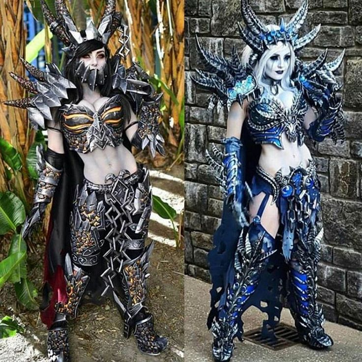 Deathwing and Sindragosa- Jessica Nigri