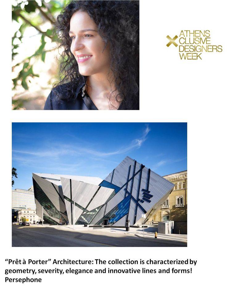 All eyes on PERSEPHONE! Η περσινή νικήτρια του ανοικτού διαγωνισμού σχεδίου Fashion Design Project, Περσεφόνη Μαυρομανωλάκη, μας αποκαλύπτει την πηγή έμπνευσης της συλλογής που θα δείξει στον διαγωνισμό New Designers Awards της 18ης AXDW! Αναμένουμε…