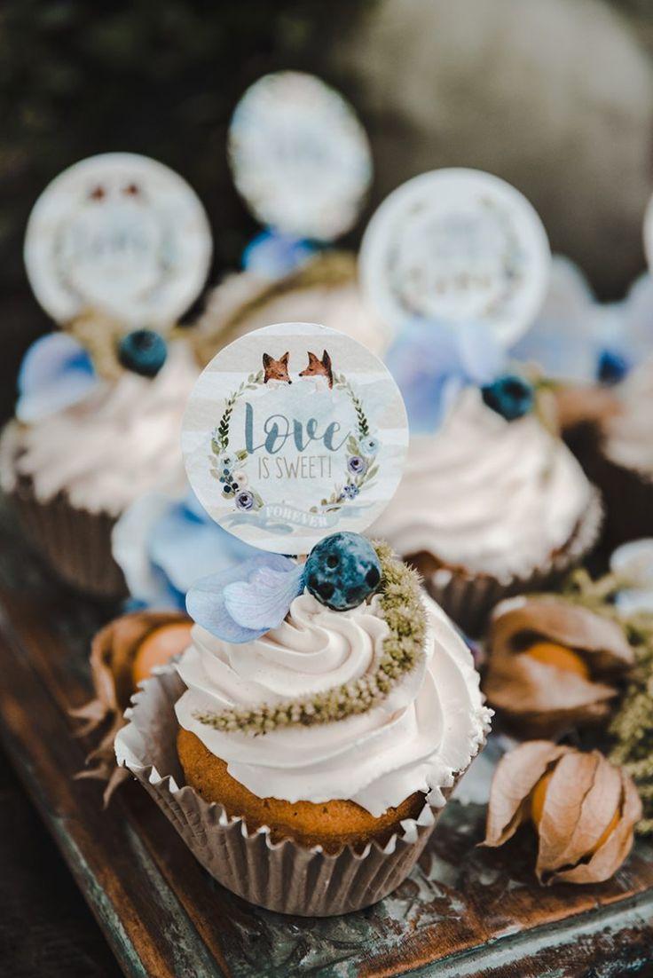 Blue Vintage Wedding Konzeption, Papeterie, Banner: Designerseits U2013  Grafisches Glück Fotografie: Evelina