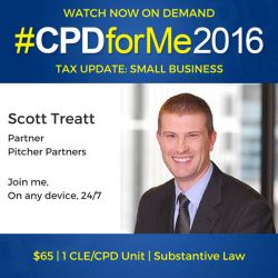 $65 Legal Update #auslaw Watch #CPD Now - Small Business Tax #Update http://bit.ly/SmallBizTaxUpdate @CPDforMe 1 CPD/CLE unit