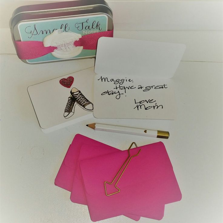 New little note card set to make leaving little notes of encouragement quick and easy...free domestic shipping!