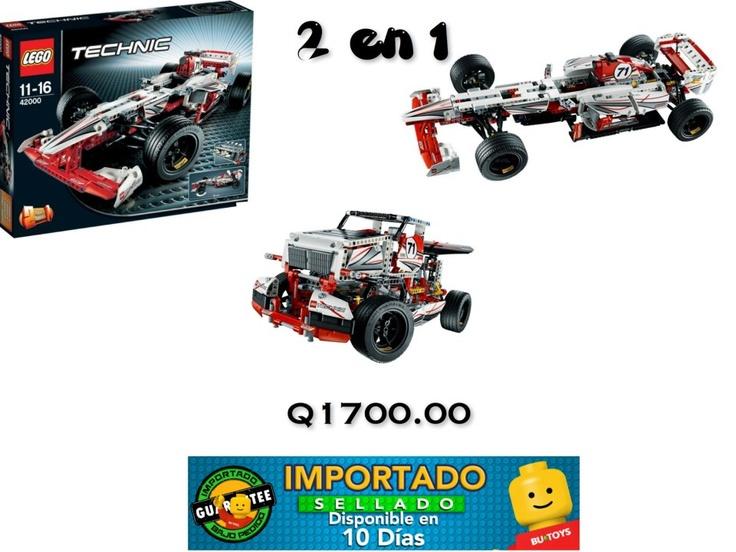 Construye estos dos grandes vehículos con este set, el mejor precio para este gran set. Pide el tuyo enviando un correo a legoalmejorprecio@icloud.com