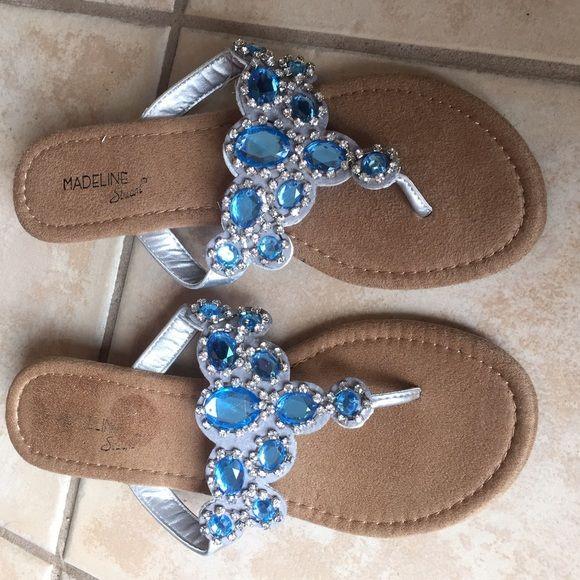 Nwob Madeline Stuart Fancy Flip Flop Nwob Madeline Stuart -2358