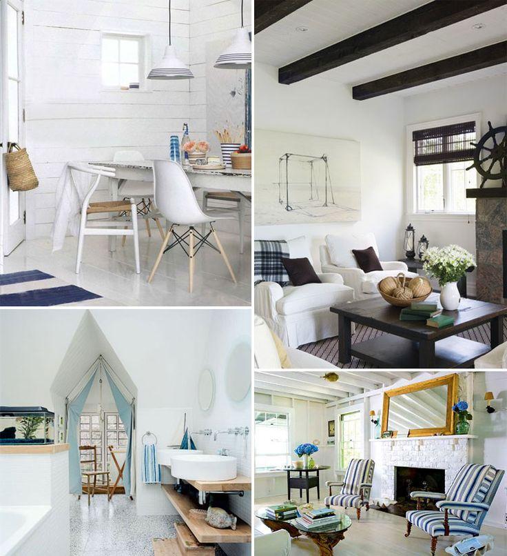 96 Best Beach Hut Interiors Images On Pinterest