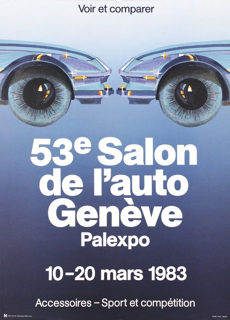 25 best geneva car show images on pinterest ad car ads for Adresse salon de l auto geneve