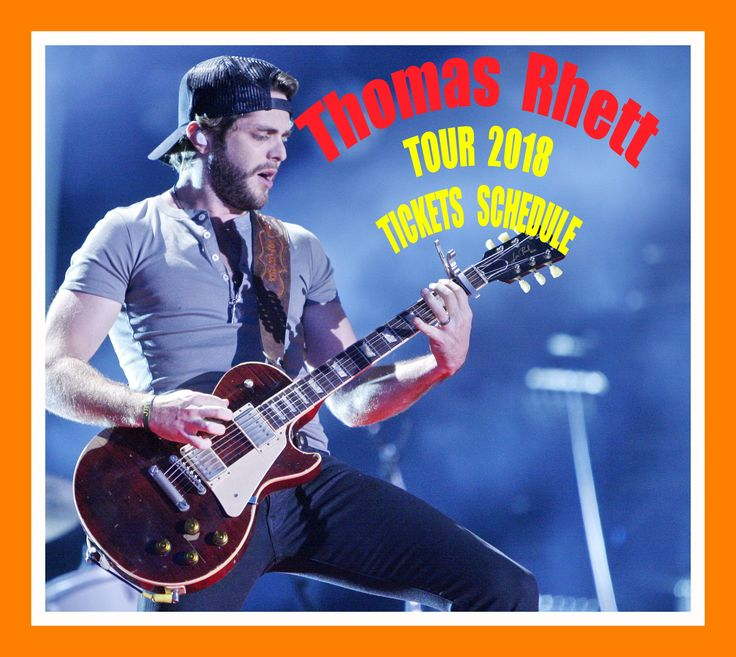 Thomas Rhett - The easiest way to buy concert tickets (seller – SeatGeek).  Tour 2018 - Tickets and Tour Schedule.