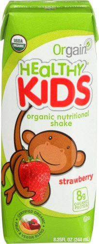 Orgain Kids Protein Organic Nutritional Shake Strawberry 825 Ounce 12 Count *** See this great product.