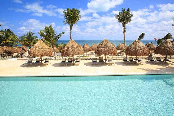 Ultimate relaxation at Finest Playa Mujeres pool. #thejoyoftravel www.thejoyoftravel.net