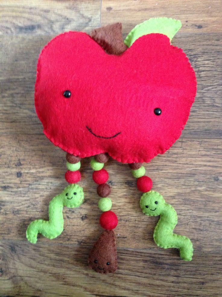 The Happy Apple kit from Felt Folk