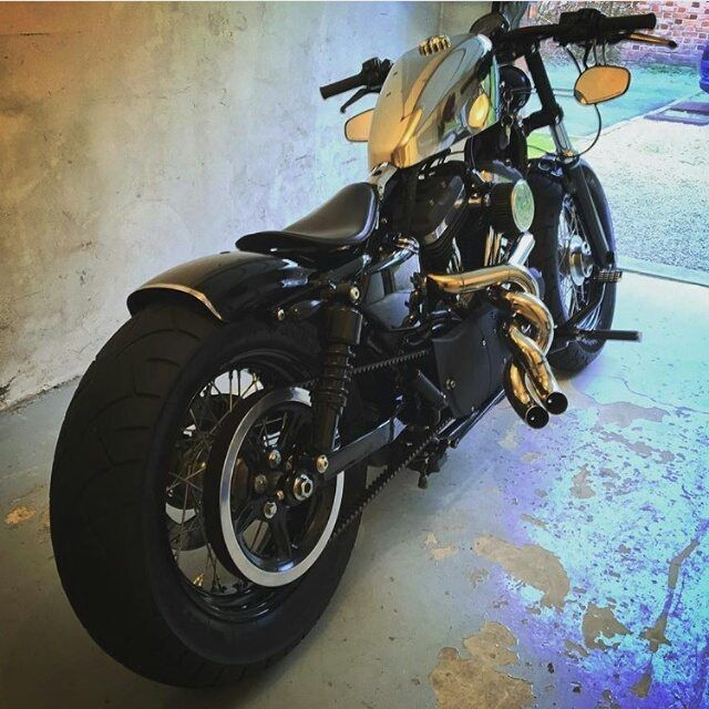 Harley Davidson 48 custom.