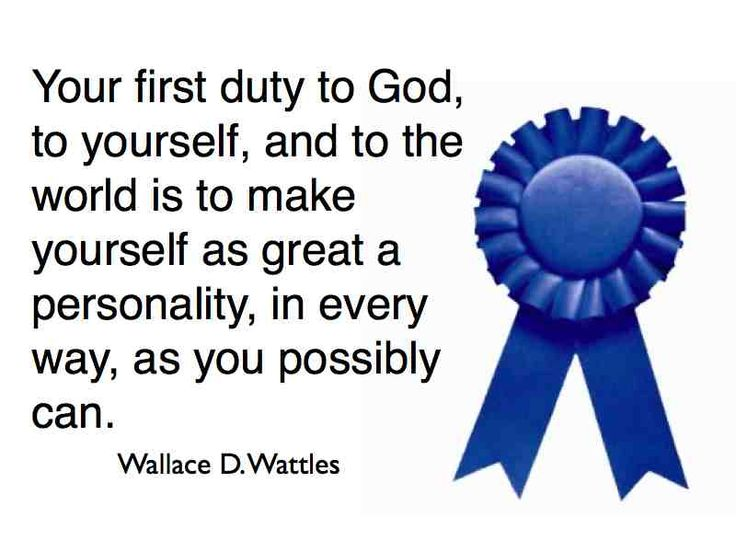 Wallace D. Wattles - Master of The Science Of Getting Rich and The ...