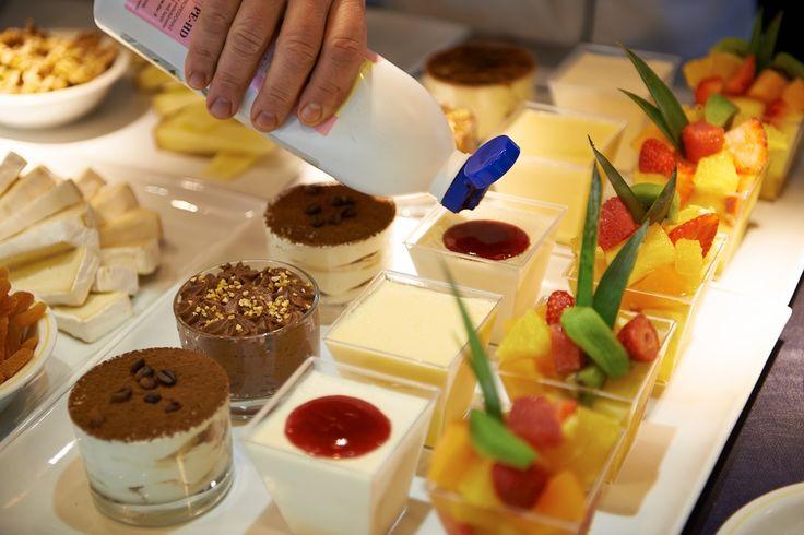 Dessert sul Mediterraneo...#navigialle di Corsica Sardinia Ferries