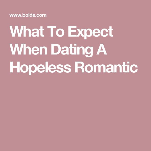 Dating is hopeless