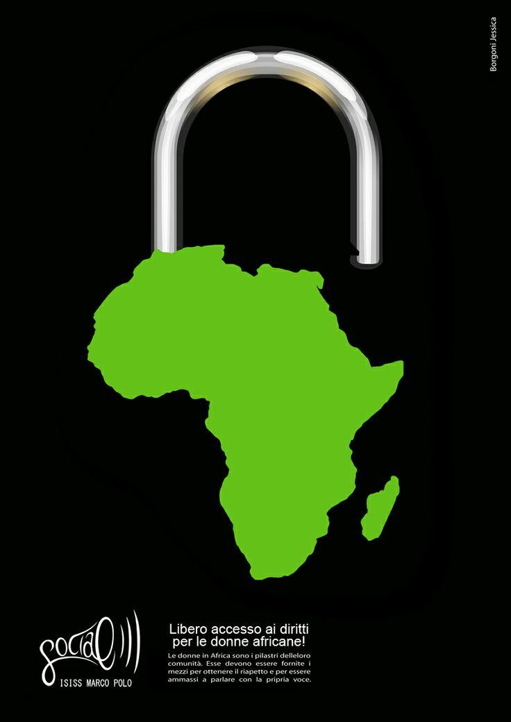 Campagna di solidarietà verso le donne africane. Jessica Borgoni, 2009