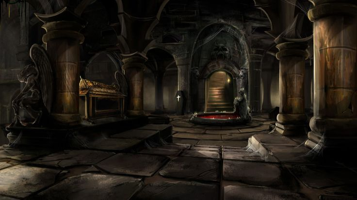 Castle interior background mystic wallpaper tomb in an for 3d wallpaper for home egypt