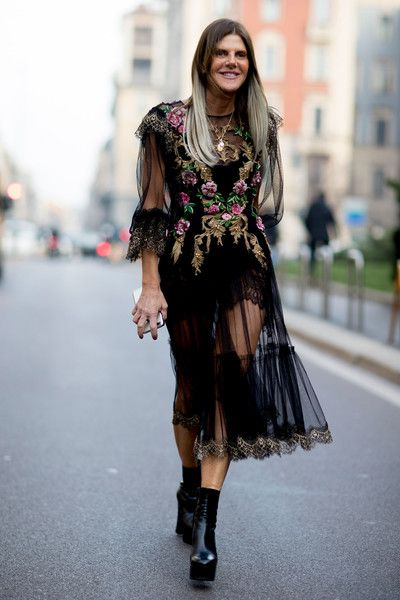 Sheer Style - The Street Style at Milan Fashion Week Was Seriously Chic - Photos