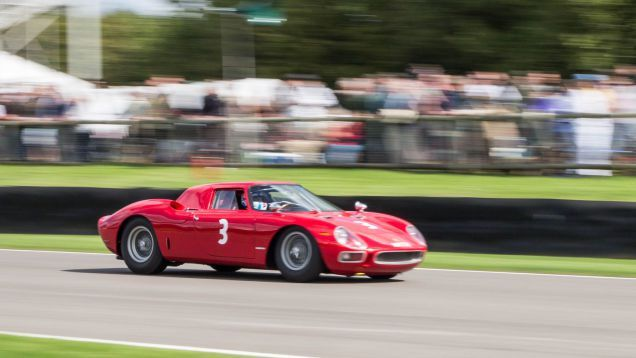 Heres Chris Harris Screaming Around The Goodwood Circuit In A Ferrari 250 LM