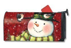"""Magnet Works Feathered Friends MailWrap by MailWraps. $17.33. Reuseable & all weather. Mailbox Cover may be trimmed for a custom fit.. Includes a sheet of vinyl numbers.. Made of durable fade resistant vinyl and will not crack or tear.. Fits standard sized mailboxes, 6.5""""W x 19""""L. Give your mailbox a new look for every season and reason! Magnetic mailbox covers are offered in a wide variety of unique designs that are certain to add variety and excitement to any ordin..."""