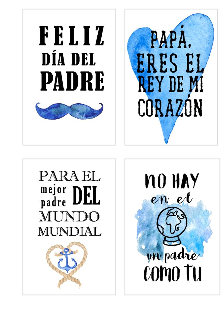 Tarjetas imprimibles día del padre. - Sweet dreams of scrap Diy Father's Day Gifts, Father's Day Diy, Fathers Day Crafts, Happy Fathers Day, Diy Father's Day Cards, Fathers Day Pictures, Family World, Dad Day, Bullet Journal Ideas Pages