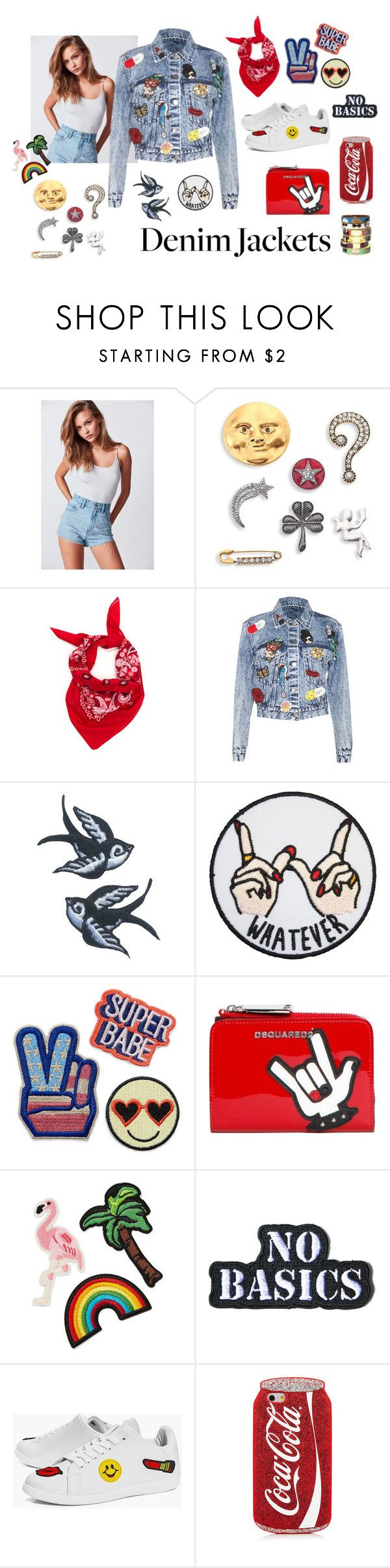 """Untitled #160"" by sakura1987 ❤ liked on Polyvore featuring BDG, Marc Jacobs, Alice + Olivia, Dsquared2, 3x1, Hollywood Mirror, Boohoo and Bijoux de Famille"