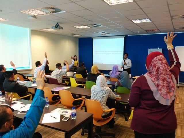 Training at MDec with Bahagian Teknologi Pendidikan
