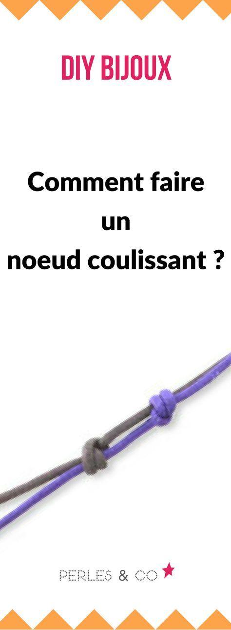 Comment faire un noeud coulissant ? Retrouvez nos conseils pour apprendre les bases techniques en création de bijoux fantaisie. #diy #bijou #moeud #coulissant #tuto #tutoriel #bijou #technique