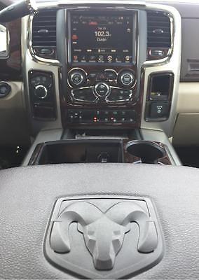 2016 2017 2018 Dodge Ram 1500 2500 3500 SLE DASH KIT de molduras de madera SLT Interior Conjunto