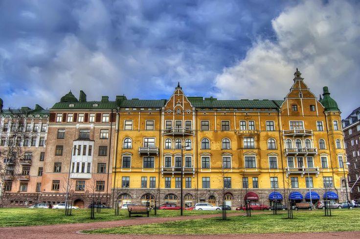 HDR in Helsinki: Building in Ullanlinna