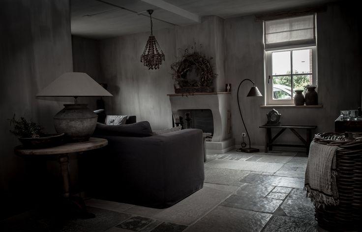 Landelijke woonkamer in een hoffz stijl hoffz inrichting pinterest rustic modern - Sofa landelijke stijl stijlvol ...