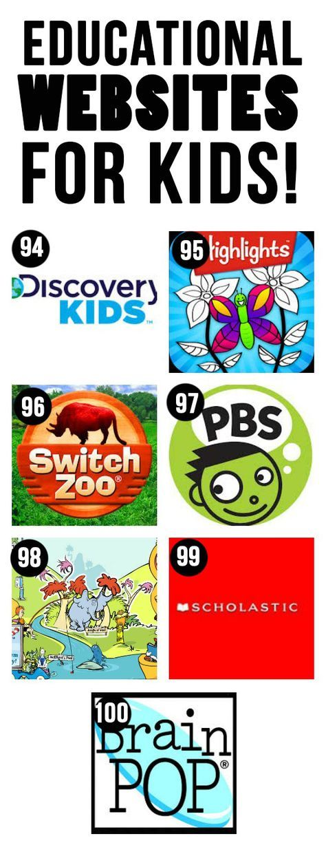100 of the BEST Apps, YouTube Channels & Websites for Kids!