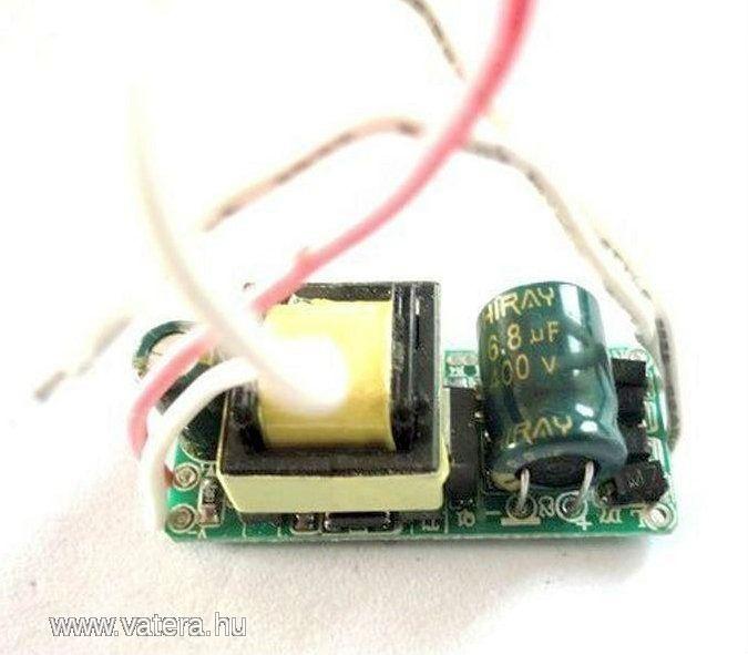 High Power LED meghajtó tápegység 9-10W 230VAC - 520 Ft - Nézd meg Te is Vaterán - Izzó, led, égő - http://www.vatera.hu/item/view/?cod=1808548193