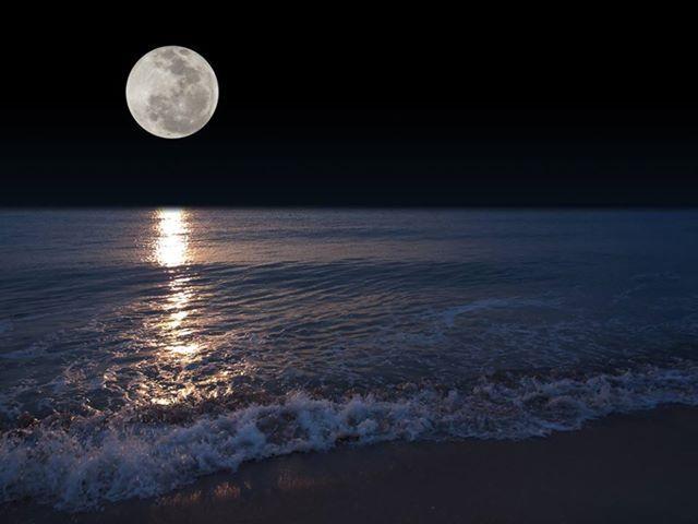 Maanlicht: natuurlijk licht. Licht van de maan is vaak blauwachtig wit.
