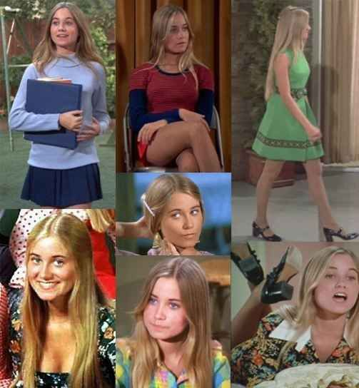 Marcia Brady from The Brady Bunch | 46 Awesome Costumes For Every Hair Color