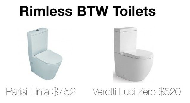 """""""Rimless BTW Toilets"""" by insideout1 on Polyvore featuring interior, interiors, interior design, home, home decor, interior decorating and LUCI"""