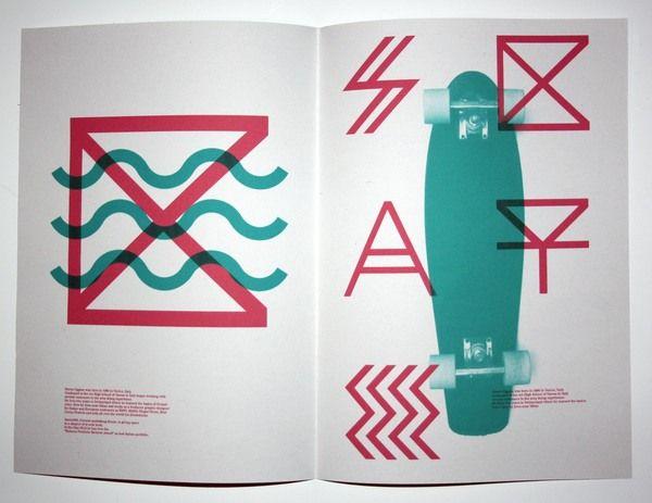 Labieno Typeface by Marco Oggian, via Behance