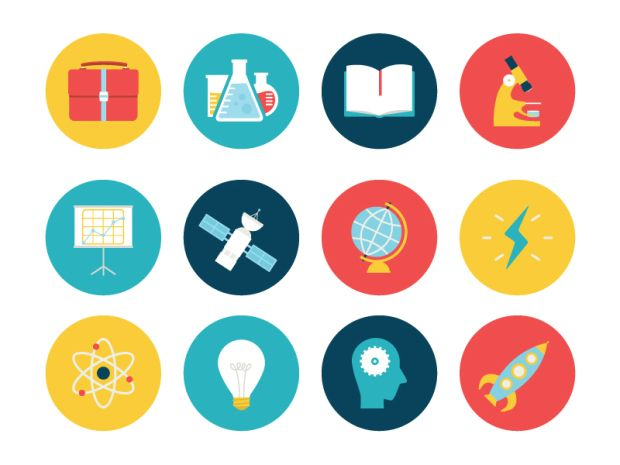 18 Incredible Flat Icon Designs #flat #design #icon
