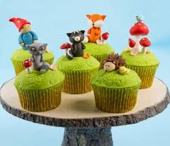 Inspiration for a Woodlands Cake, Novelty Cakes. www.sweetsecretsdubai.com