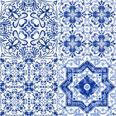 MILAN | CHINOISERIE | Face 2 | 40x40 | Wall & Floor Tile