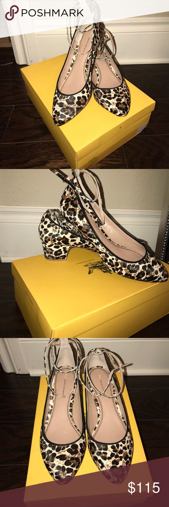 Pilero and the Letterpress Cheetah Hair Maryjanes Pony Hair cheetah print maryjane small heels. Brand new super cute- purchased at Anthropologie a few years back and sat in there box. Comes with original box and new condition. Fits a 10 perfectly or even a 9.5. Looking for a loving home Pilero and the Letterpress Shoes